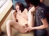 Busty Japanese Babe Haruka Sanada Gives A Great Blowjob
